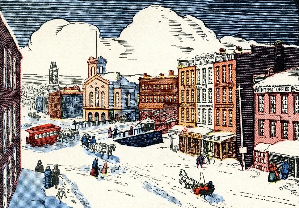 Syracuse NY mid 19th century